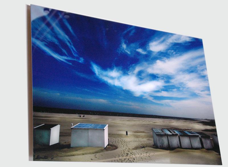 Foto afdruk verlijmd achter acrylaat